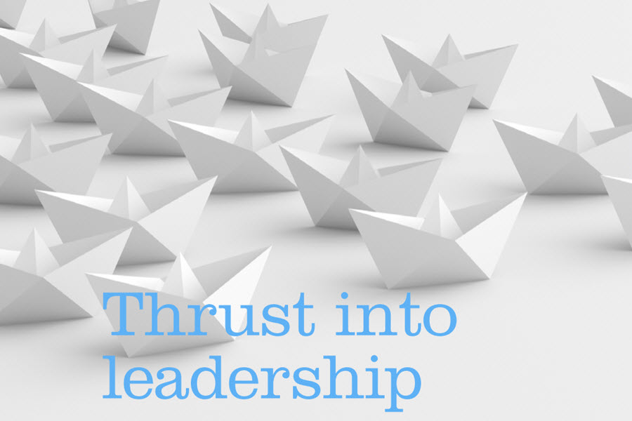 Thrust into Leadership – The Private Practice Magazine